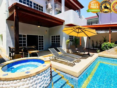 Photo for ★★★★★ Private Pool Villa, 5 min to walking street & beach