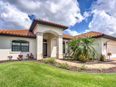 Photo for Alluring Waterfront Cape Coral Home w/Lanai & Dock