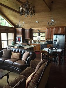 Photo for HOUSE OF THE RISING SUN*** SECLUDED LUXERY CABIN**PET FRIENDLY**HIKERS DREAM