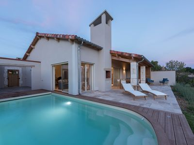 Photo for Luxury 3 bed , 3 bathroom villa with pool on Chateau estate