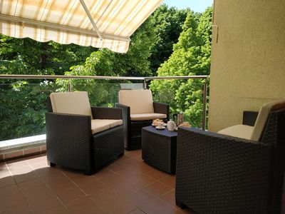 Photo for Appartment Trojer - sunny and a top location in Merano
