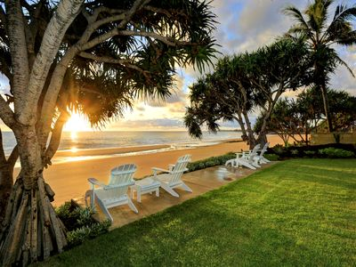 Photo for ZEN Beach Retreat - Absolute Beachfront, Southern Great Barrier Reef, 22 guests