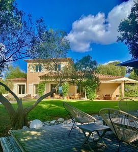 Photo for SAGONE: Beautiful charming villa with pool, quiet area near the beach