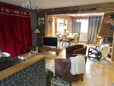 Photo for Chalet 8 adults / 5 children village saint lary redone recently