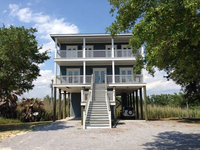 Photo for Surfside I - 5 Bedrooms - 4 1/2 Baths - Private Beach!