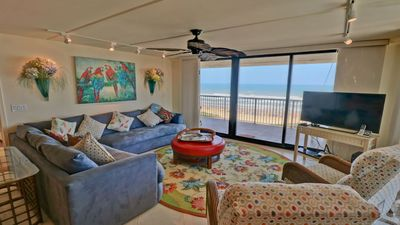 Photo for Beachfront condo w/ Awesome view of the Beach - 910