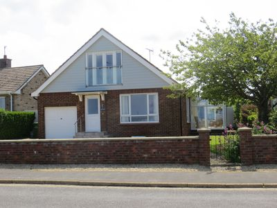 Photo for Seascape....superb quality chalet bungalow with sea views - very popular