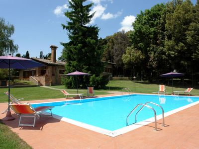 Photo for 6 bedroom Villa, sleeps 12 in Camporbiano with Pool and WiFi