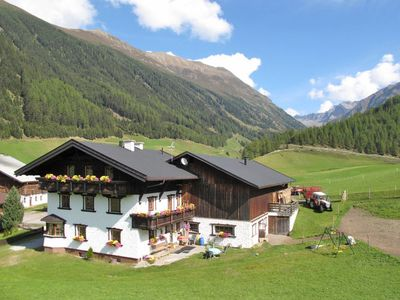 Photo for Apartment Longens Bio-Berghof (NIT140) in Umhausen - 8 persons, 3 bedrooms