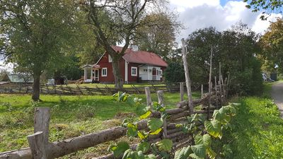Photo for Typical Swedish wooden house ... live like the children of Bullerbü