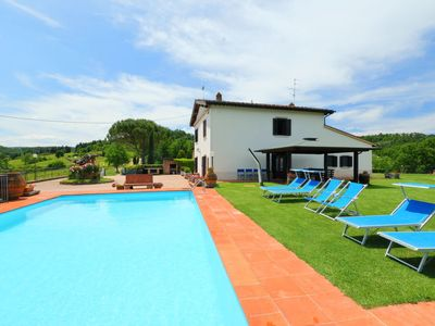 Photo for Vacation home Il Poggetto in Mercatale Val di Pesa - 10 persons, 5 bedrooms