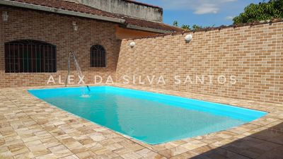 Photo for House w / pool in Mongagua near the fishing platform