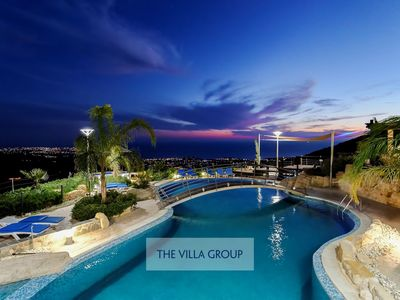Photo for Pegeia Villa, Sleeps 35 with Pool, Air Con and WiFi