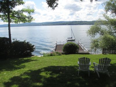 Photo for Amazing Lakefront Cottage, Perfect Summer Getaway
