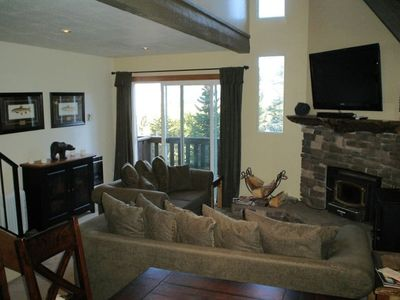 "Large Family Room with 50"" flat screen and DIRECTV \ HBO."