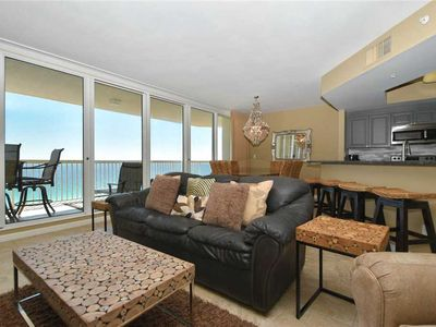 Photo for Beachfront Condo. Semi-Private Elevator. Extra Large Balcony. Free Beach Service