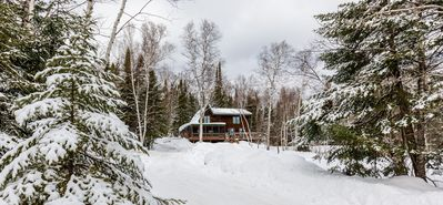This cabin is a little gem, secluded but close to all the action!