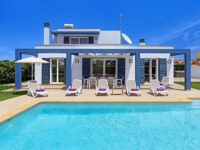 Photo for Blue Dream - high-quality villa close to beach & shops - with pool, Wi-Fi & A/C