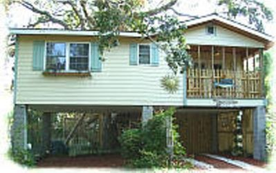 front view of the Tree House