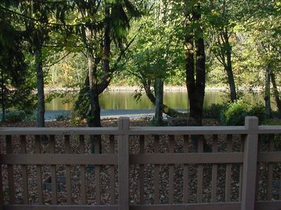 Front deck view  (summer)