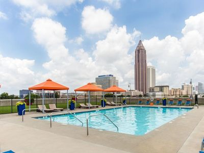 Photo for Rooftop Pool Condo in the heart of Downtown Atlanta