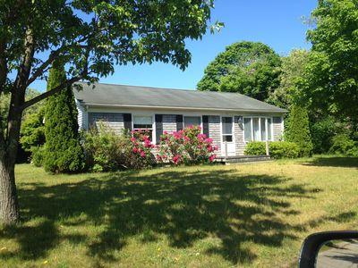 Photo for Affordable, Ideal Location-walk to town/bike to beach, pet friendly
