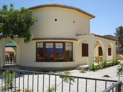 Photo for Lovely 3 bed villa in beautiful location, fully equipped with large private pool