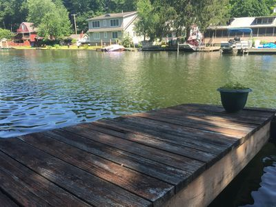 jump right in for a lovely swim or take the canoe out on the lake!