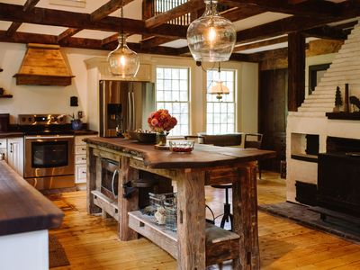 Photo for Beautifully Restored Antique Post and Beam Home