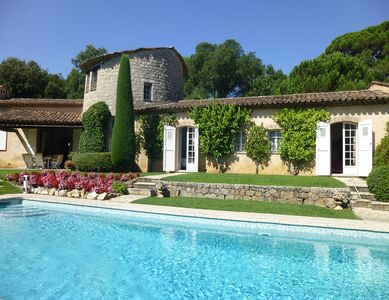 Photo for 4BR Villa Vacation Rental in Valbonne