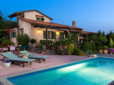 Photo for Traditional Villa with Superb Garden and Total Quietness 4km away from the beach