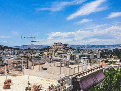 Photo for Chic Oasis With Majestic Views Of The Acropolis
