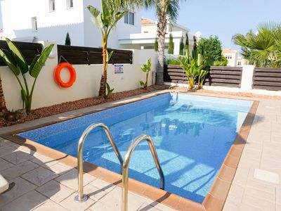 Photo for Villa Soraya 3 (Pernera - Protaras) - Beautiful Villa with Private Pool, BBQ and Free WIFI . Only 600 Meters from the Beach