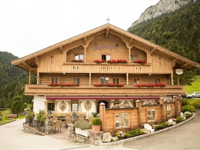 Photo for 3-6 days double room, shower, WC, mountain side - Agerhof