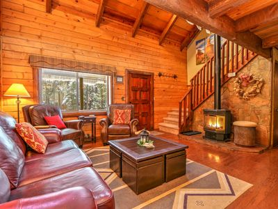 Photo for Great for Families; Wildlife Views; Tree Fort! Webb Cabin