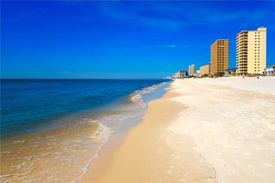 Panama City Beaches - Go down to the waters of the Gulf and indulge in the cool waters of Panama City Beach. Spend the day combing the beach for beautiful shells or bask in the warm Florida sun.