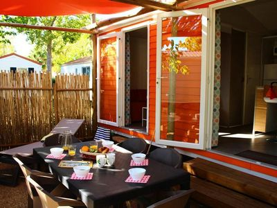 Photo for Camping Air Marin **** - Mobile home Mexico More 3 Rooms 4/6 People