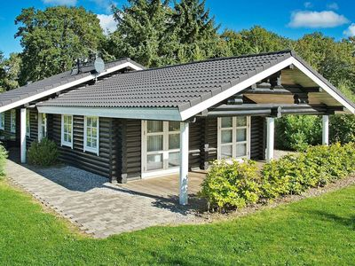 Photo for Modern Holiday Home in Glesborg Denmark with Garden