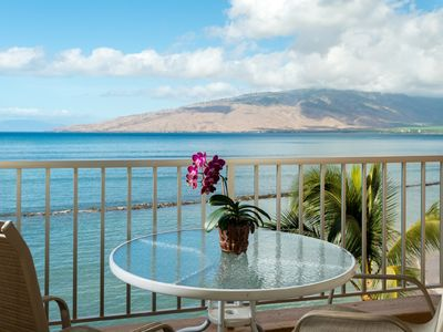 Photo for Summer Deal $139/nt Beachfront and Center!! Incredible 3 Island Views Free Wi-Fi