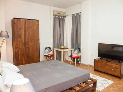 Photo for Syntagma & Ermou Studio Apartment in Superb Downtown Athens has it ALL!