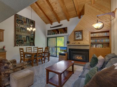 Photo for Mountain Wood: 3  BR, 2  BA Townhouse in Carnelian Bay, Sleeps 7