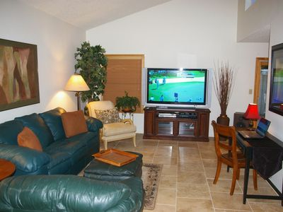 Photo for Comfortable Quiet Condo With Open Floor Plan & Private Hot Tub  In Tempe