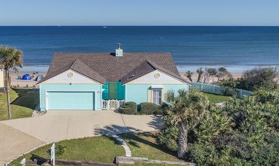Photo for Upscale Oceanfront 1 Level Home-Great Views-Huge Deck-Screen Porch-Pets Welcome