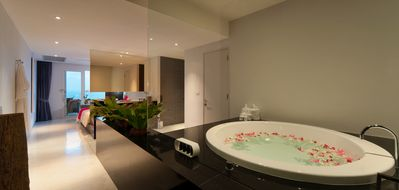 Photo for Spacious Suite - Private Pool & Seaview