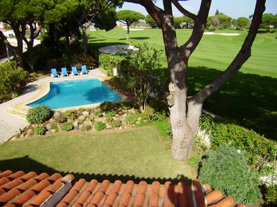 Photo for Golf views and private swimming pool. Located 15 minutes walk from Vale do Lobo beach and restaurants
