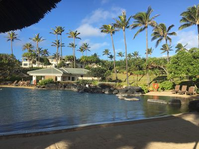 Photo for Lovely resort on the Garden Island Paradise of Kauai (Xmas week available!)
