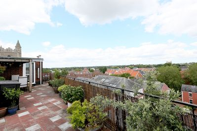 View from  Roof Garden Terrace