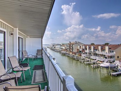 Photo for NEW! Waterfront Ocean City Apartment w/Pvt Balcony
