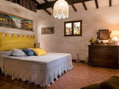 Photo for Casa Gatti: Cozy Apt in Agriturismo Pian De' Somari w/ 1 Jacuzzi & 10 Donkeys