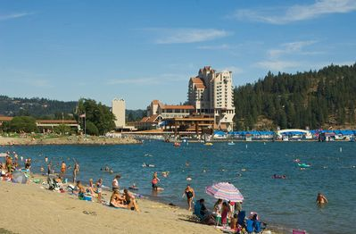 City Beach and Sanders Beach are the two most famous here in CdA.